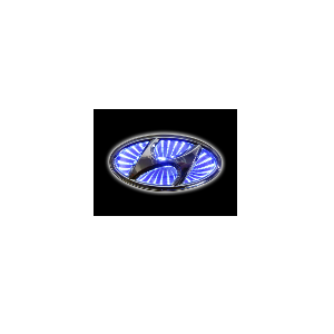 3D Emblem HYUNDAI 13.0 cm x 6.5 cm